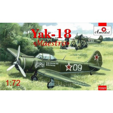 AMODEL 72321 Yak-18 Maestro 1/72