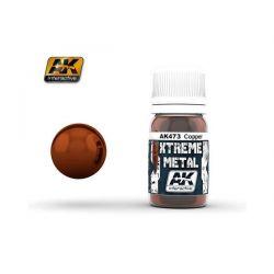AK INTERACTIVE: XTREME METAL Cooper - 30 ml