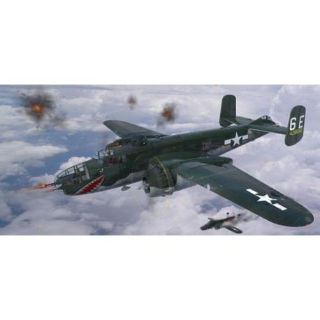 Hong Kong Models North-American B-25J Mitchell with the 'Glass Nose'