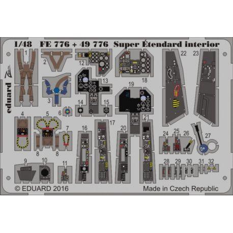 EDUARD 49776 Super Étendard interior 1/48