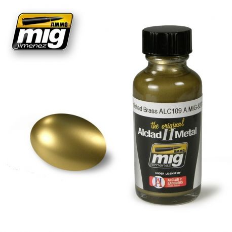 Alclad ALC109 POLISHED BRASS 30ml