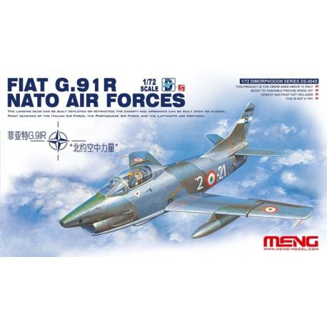 MENG MODEL - FIAT G.91 R NATO AIR FORCES 1/72
