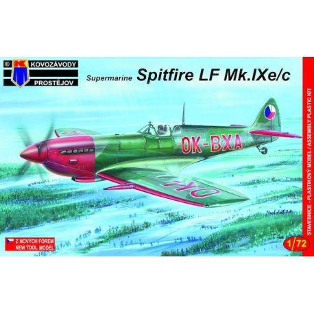 Supermarine Spitfire LF Mk.IXE/C Cz Police, Greek AF, Italian AF