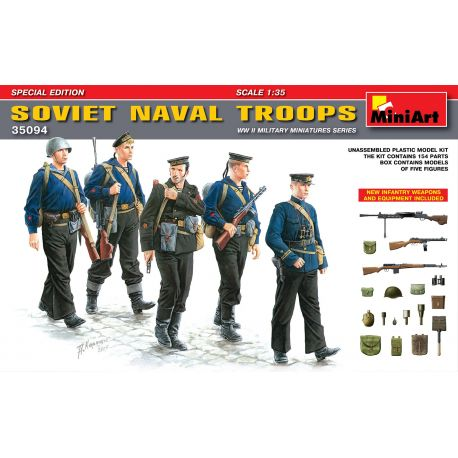 MINIART 35094 SOVIET NAVAL TROOPS