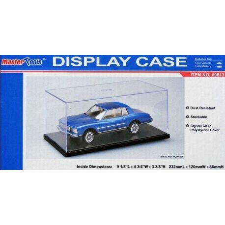 MASTER TOOLS 09813 DISPLAY CASE 120X232X86mm