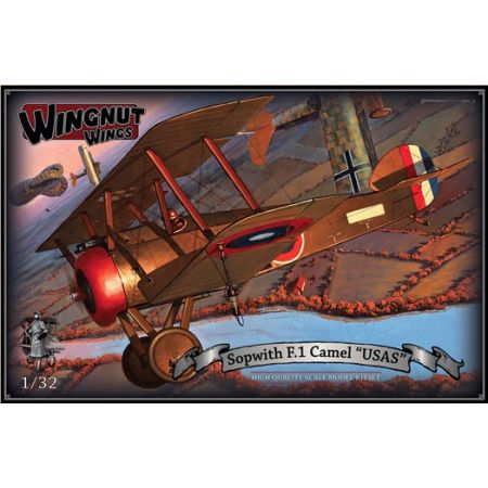 "Wingnut Wings 32072 Sopwith F.1 Camel 'USAS"""