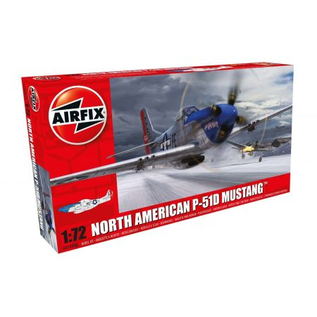AIRFIX A01004A North American P-51D Mustang 1:72