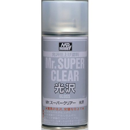 MR SUPER CLEAR GLOSS SPRAY, 170ml