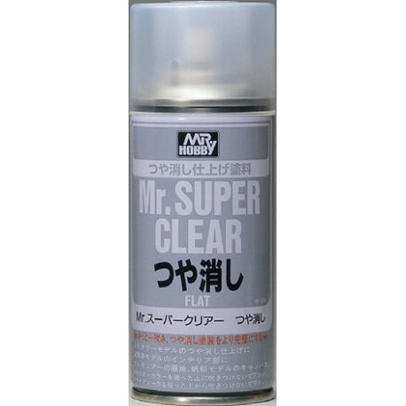 MR SUPER CLEAR FLAT SPRAY, 170ml