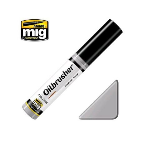 AMMO OF MIG: OILBRUSHER MEDIUM GREY