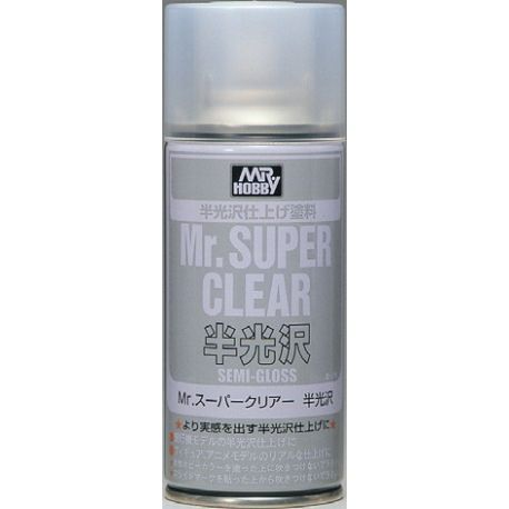MR SUPER CLEAR SEMI-GLOSS SPRAY, 170ml