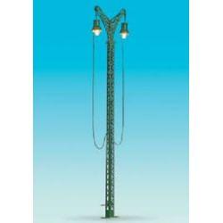 BRAWA 5520 LAMPIONE DOPPIO DA SCALO