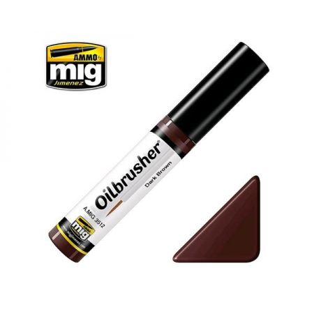 AMMO OF MIG: OILBRUSHER colore MARRONE SCURO