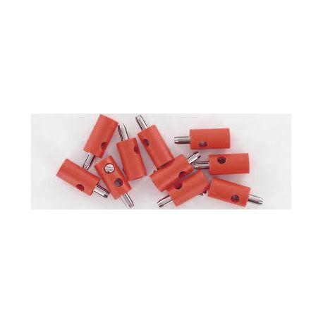 BRAWA 3052 CONFEZIONE 10 SPINOTTI ROSSI CON PIN GRANDE