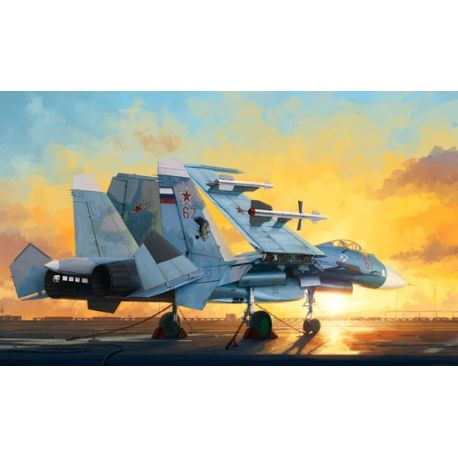 TRUMPETER 01678 Russian Su-33 Flanker D