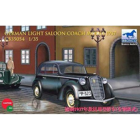 Bronco Models German Light Saloon Coach Model 1937