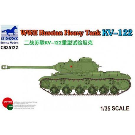 Bronco Models WWII Russian Heavy Tank KV-122