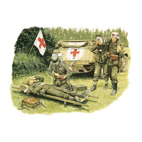 Dragon 6074 GERMAN MEDICAL TROOP