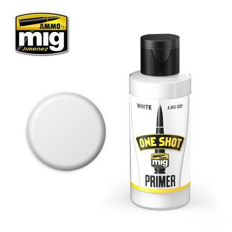 AMMO OF MIG ONE SHOT PRIMER - BIANCO