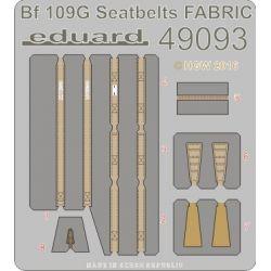 Eduard 49093 Bf 109G seatbelts FABRIC 1/48