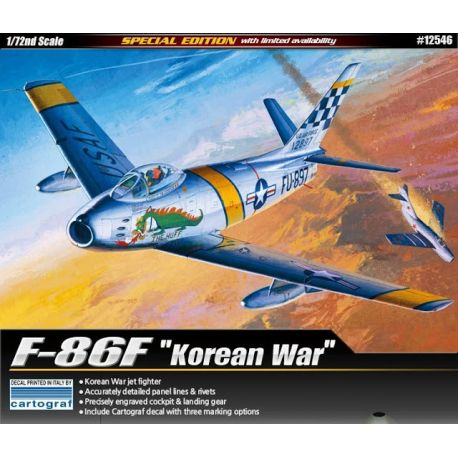 "ACADEMY 12546 F-86F ""Korean War"" Special Edition"