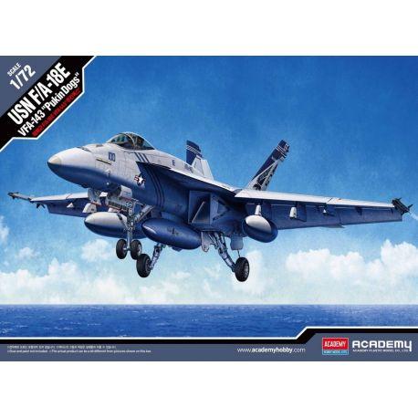"ACADEMY 12546 USN F/A-18E VFA-143 ""Pukin Dogs"""