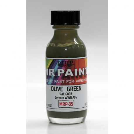 Mr Paint MRP-035 Olive Green RAL 6003