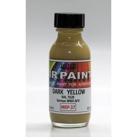 Mr Paint MRP-037 Dark Yellow RAL 7028